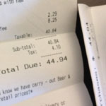Latest Fear-Mongering Attempt: BPA and Receipts