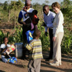 Laura Bush Visits Africa